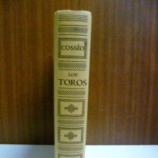 Libros de segunda mano: COSSIO. LOS TOROS. EL TOREO. VOL 4.. Lote 40747784