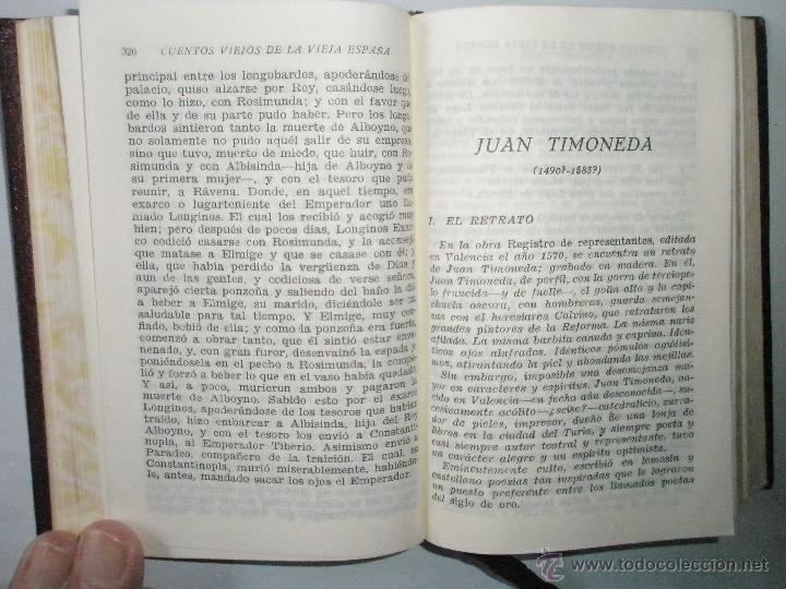 Libros de segunda mano: CUENTOS VIEJOS DE LA VIEJA ESPAÑA. Del siglo XIII al XVIII. Aguilar Joya. 1941.Buen ejemplar - Foto 8 - 40919059