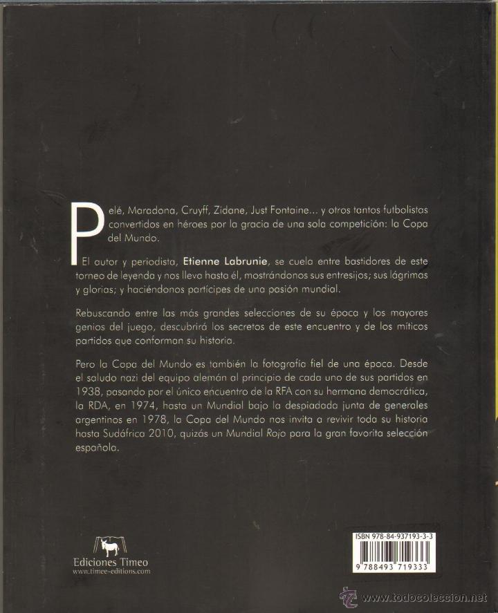 Libros de segunda mano: OTROS GOYO - LIBRO - COPA DEL MUNDO - LA HISTORIA DE UN SUEÑO - 140 PGS - MUY ILUSTRADO. CC99 - Foto 4 - 73111593