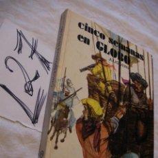 Libros de segunda mano: CINCO SEMANAS EN GLOBO - JULIO VERNE. Lote 40967331