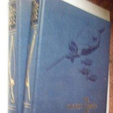 Libros de segunda mano: EL GRAN LIBRO DE LA PESCA. PLAZA & JANÉS, 1981. 2 TOMOS. COMPLETO. 267 + 277 PP. ILUSTRADA.. Lote 40968527