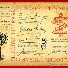 Libros de segunda mano: EL SOBRE LITERARIO CON SU CONTENIDO ORIGINAL , POESIA ,LITERATURA., S9. Lote 40971167