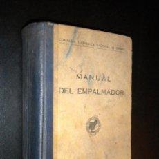 Libros de segunda mano: MANUAL DEL EMPALMADOR. COMPAÑÍA TELEFÓNICA NACIONAL DE ESPAÑA. Lote 41030058