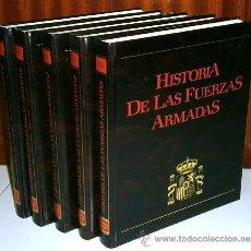 Libros de segunda mano: HISTORIA DE LAS FUERZAS ARMADAS 5T POR ARTURO SUS Y OTROS DE ED. PLANETA / PALAFOX EN ZARAGOZA 1983. Lote 41068107