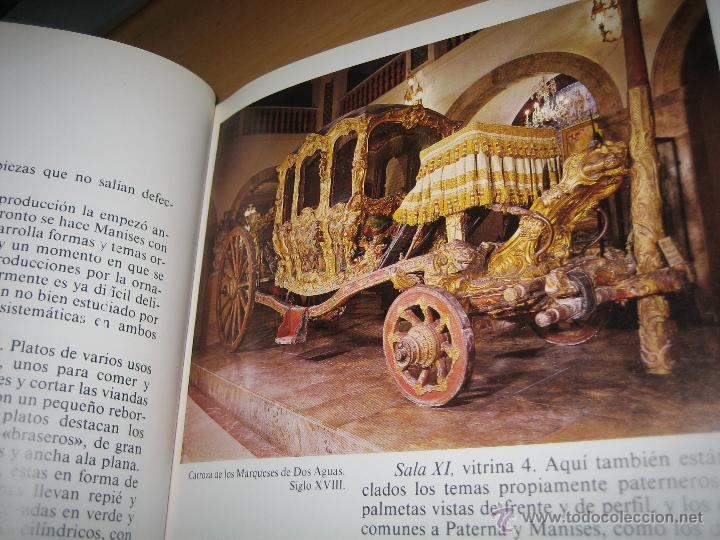 Libros de segunda mano: MUSEO NACIONAL DE CERÁMICA Y ARTES SUNTUARIAS GONZÁLEZ MARTÍ - Foto 4 - 41079284