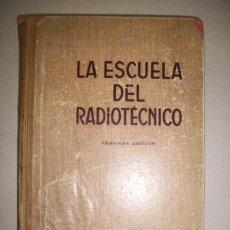 Libros de segunda mano: SÁNCHEZ-CORDOVÉS, JOAQUÍN. FUNDAMENTOS DE RADIOELECTRICIDAD. Lote 41118324