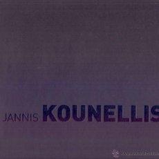 Libros de segunda mano: JANNIS KOUNELLIS / EXPOSICIÓN SANTIAGO DE COMPOSTELA , 2008 . FUNDACIÓN CAIXA GALICIA . * RARO *. Lote 41143705