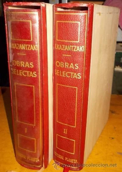 OBRAS SELECTAS. 2 TOMOS. A-PI-002 (Libros de Segunda Mano (posteriores a 1936) - Literatura - Otros)
