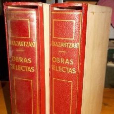 Libros de segunda mano: OBRAS SELECTAS. 2 TOMOS. A-PI-002. Lote 41171298