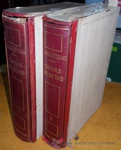 OBRAS SELECTAS. 2 TOMOS. A-PI-003 (Libros de Segunda Mano (posteriores a 1936) - Literatura - Otros)