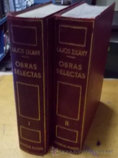 OBRAS SELECTAS. 2 TOMOS. A-PI-742 (Libros de Segunda Mano (posteriores a 1936) - Literatura - Otros)