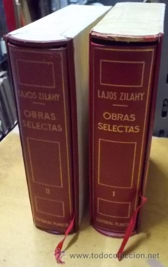 OBRAS SELECTAS. 2 TOMOS. A-PI-744 (Libros de Segunda Mano (posteriores a 1936) - Literatura - Otros)