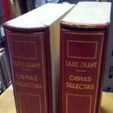Libros de segunda mano: OBRAS SELECTAS. 2 TOMOS. A-PI-744. Lote 41202157