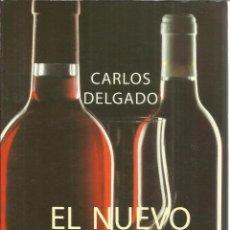 Libros de segunda mano: EL NUEVO LIBRO DEL VINO. CARLOS DELGADO. ALIANZA EDITORIAL. FOTO CUBIERTA ANGEL BECERRIL.MADRID.1983. Lote 41203076