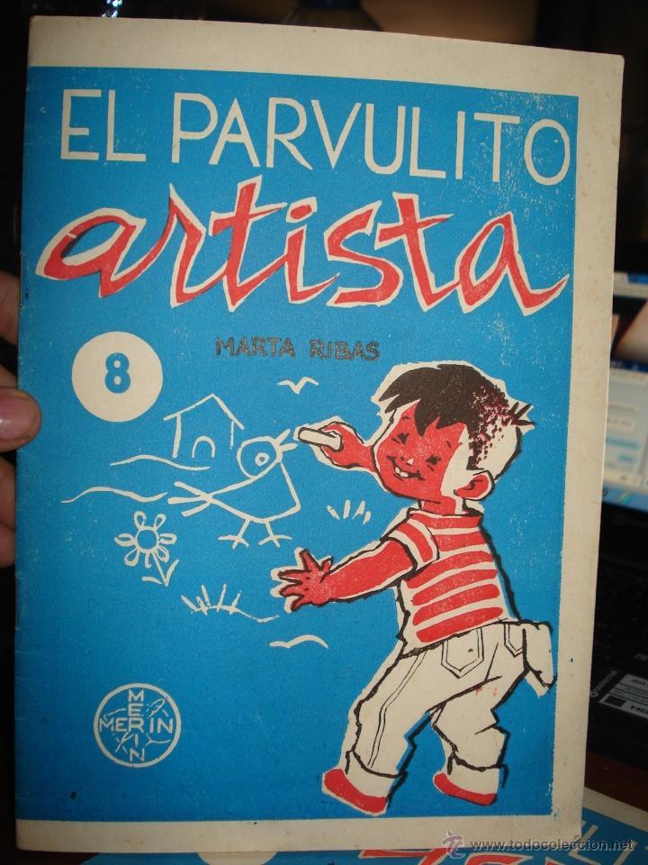 EL PARVULITO ARTISTA, MARTA RIBAS, NUMERO 6 (Libros de Segunda Mano - Literatura Infantil y Juvenil - Otros)