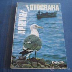 Libros de segunda mano: APRENDE FOTOGRAFIA ANTOINE DESILETS. Lote 41304305