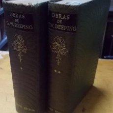 Libros de segunda mano: OBRAS DE G.W. DEEPING. 2 TOMOS. A-PI-104. Lote 3424591