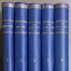Libros de segunda mano: PENSAMIENTOS. LITERATOS Y PENSADORES. OBRA COMPLETA EN 5 TOMOS. 1ª ED. 1944. VER LISTA DE AUTORES!!. Lote 41346519