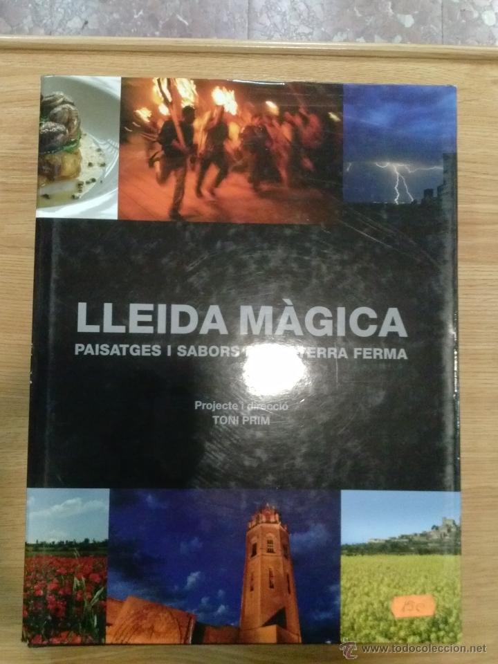 LLEIDA MAGICA PAISATGES SABORS DE LA TERRA FERMA LIBRO DIPUTACIO DE LLEIDA (Libros de Segunda Mano - Bellas artes, ocio y coleccionismo - Otros)