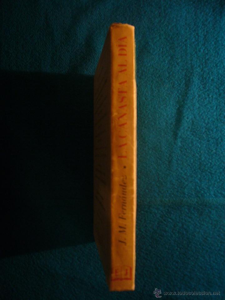 Libros de segunda mano: J. M. FERNANDEZ: - LA CANASTA AL DIA, CON EL REGLAMENTO OFICIAL - (BARCELONA, 1952) - Foto 2 - 41365484
