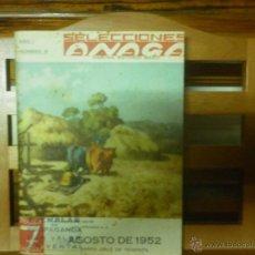 Libros de segunda mano: SELECCIONES ANAGA -DIRECTOR ANTONIO MARTI. AÑO 1 Nº 6 SANTA CRUZ DE TENERIFE. Lote 41388489