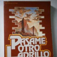 Libros de segunda mano: PASAME OTRO LADRILLO CHARLES SWINDOLL BETANIA 1980. Lote 41401142