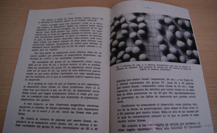 Libros de segunda mano: EL CULTIVO DE LA SOJA - HOJAS DIVULGADORAS 1974 - Foto 2 - 41420838