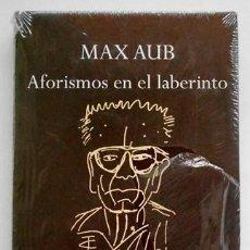 Libros de segunda mano: AFORISMOS EN EL LABERINTO - MAX AUB - EDHASA. Lote 25173519