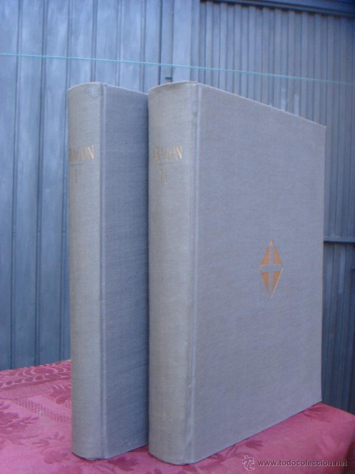 ARAGON. 2 TOMOS. ED. HERACLIO FOURNIER. ILUSTRADO Y CON MAPAS DESPLEGABLES (Libros de Segunda Mano - Historia - Otros)