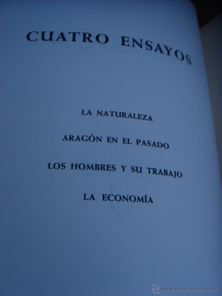 Libros de segunda mano: ARAGON. 2 TOMOS. ED. HERACLIO FOURNIER. ILUSTRADO Y CON MAPAS DESPLEGABLES - Foto 4 - 41425052