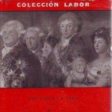 Libros de segunda mano: ZABALA Y LERA, PÍO: ESPAÑA BAJO LOS BORBONES.. Lote 41474842