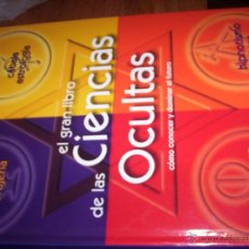 Libros de segunda mano: EL GRAN LIBRO DE LAS CIENCIAS OCULTAS - LAURA TUAN - DE VECCHI - 2006. Lote 41515776