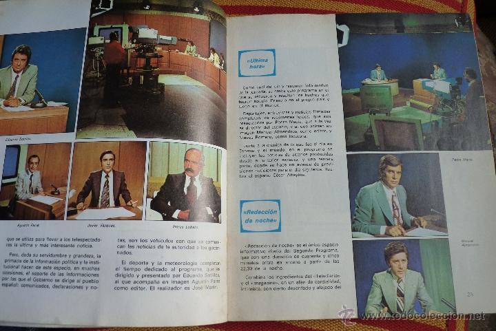 Libros de segunda mano: TELEVISIÓN, EL LIBRO DE RADIOTELEVISIÓN ESPAÑOLA 1976 - Foto 2 - 41564586