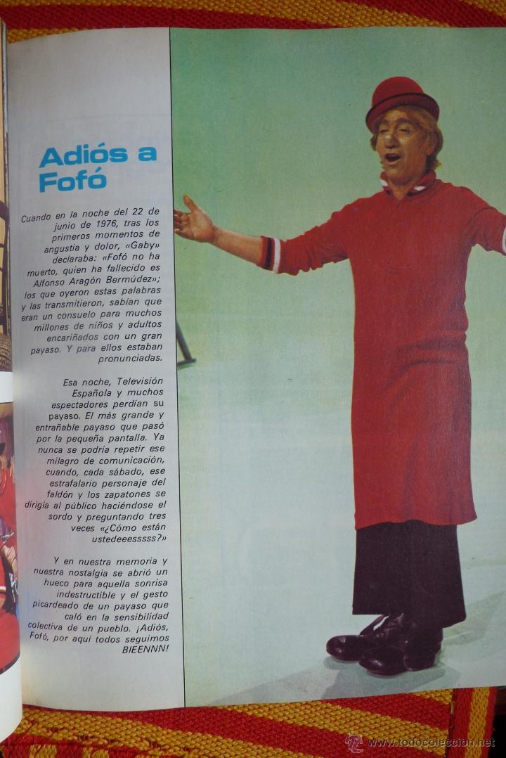 Libros de segunda mano: TELEVISIÓN, EL LIBRO DE RADIOTELEVISIÓN ESPAÑOLA 1976 - Foto 5 - 41564586
