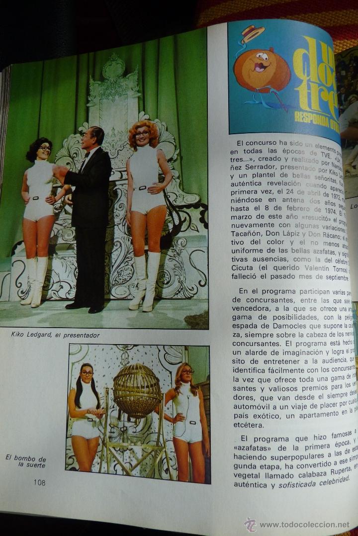 Libros de segunda mano: TELEVISIÓN, EL LIBRO DE RADIOTELEVISIÓN ESPAÑOLA 1976 - Foto 6 - 41564586