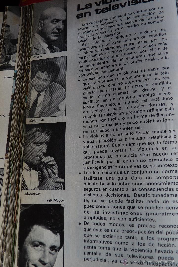 Libros de segunda mano: TELEVISIÓN, EL LIBRO DE RADIOTELEVISIÓN ESPAÑOLA 1976 - Foto 8 - 41564586