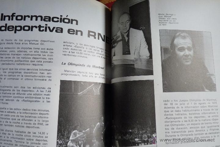 Libros de segunda mano: TELEVISIÓN, EL LIBRO DE RADIOTELEVISIÓN ESPAÑOLA 1976 - Foto 9 - 41564586