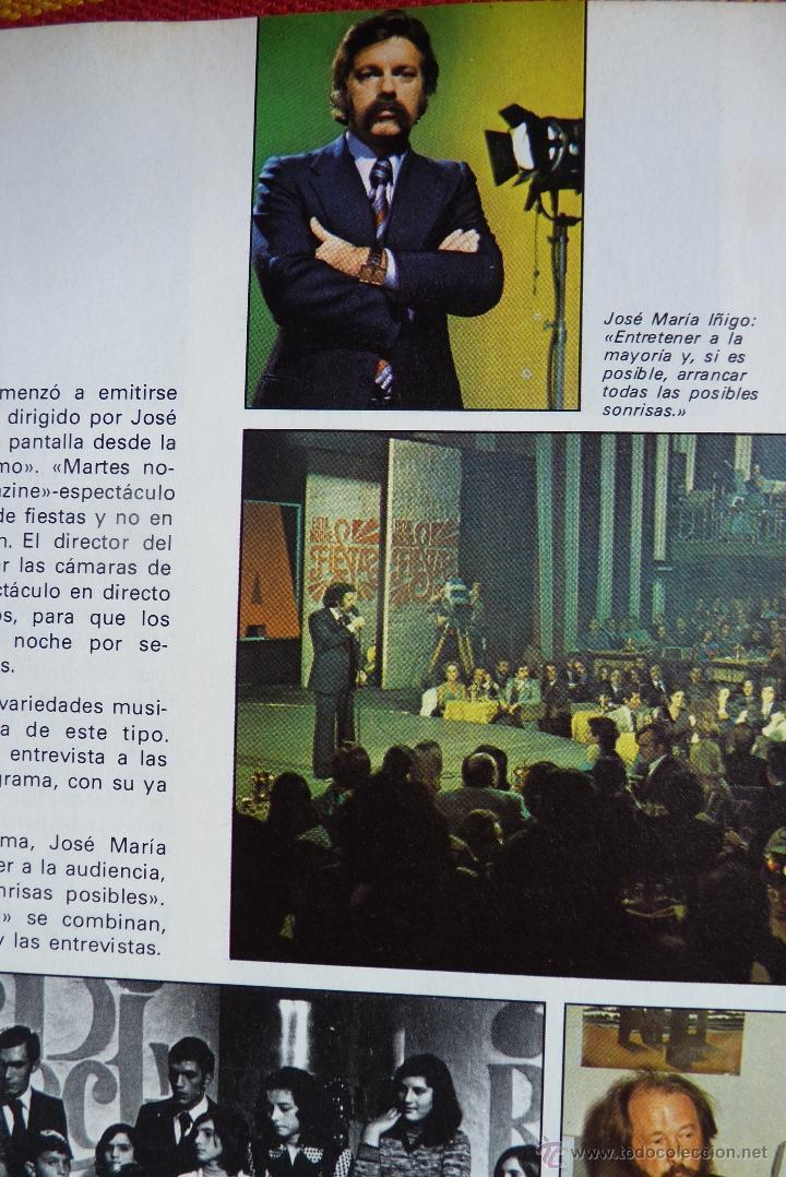 Libros de segunda mano: TELEVISIÓN, EL LIBRO DE RADIOTELEVISIÓN ESPAÑOLA 1976 - Foto 10 - 41564586