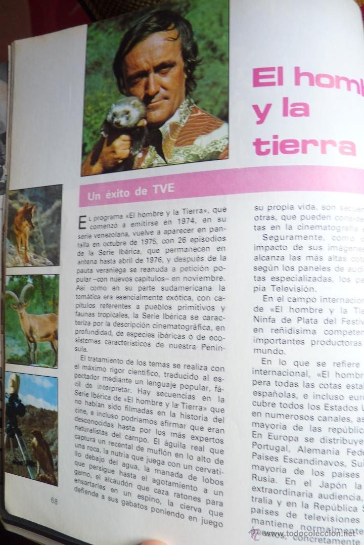 Libros de segunda mano: TELEVISIÓN, EL LIBRO DE RADIOTELEVISIÓN ESPAÑOLA 1976 - Foto 12 - 41564586