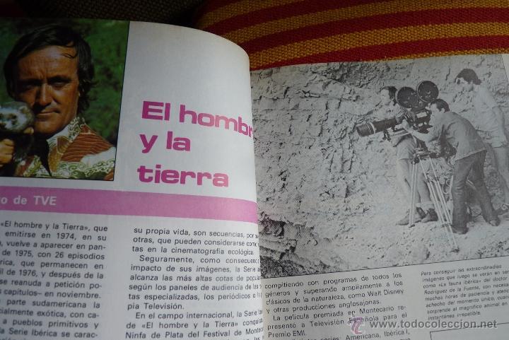 Libros de segunda mano: TELEVISIÓN, EL LIBRO DE RADIOTELEVISIÓN ESPAÑOLA 1976 - Foto 13 - 41564586