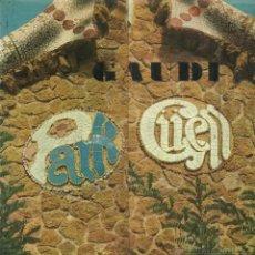 Libros de segunda mano: GAUDÍ. D. GIEDION-WELCKER. EDITORIAL POLÍGRAFA. BARCELONA. 1971. Lote 41566246