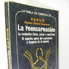 Libros de segunda mano: LA REENCARNACION PAPUS,1976,EDAF ED,REF PARACIENCIAS C5. Lote 41567929