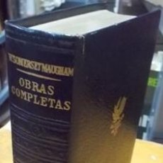 Libros de segunda mano: OBRAS COMPLETAS. W. SOMERSET MAUGHAM. TOMO III. A-PI-437. Lote 41594276
