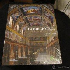 Libros de segunda mano: LA BIBLIOTECA UN PATRIMONIO MUNDIAL - JAMES W.P.CAMPBELL FOTOGRAFIA WILL PRYCE- IBERDROLA 2013. Lote 41597155
