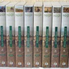 Libros de segunda mano: CAZA MAYOR Y CAZA MENOR - CANAL CAMPERO LINDE Y RIBERA - 10 CINTAS VHS - VER DESCRIPCIÓN. Lote 41619523
