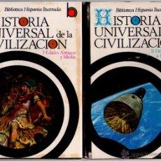 Libros de segunda mano: HISTORIA UNIVERSAL DE LA CIVILIZACION - TOMO I Y II - R.VERA TORNELL - RAMÓN SOPENA - 1974. Lote 41658104