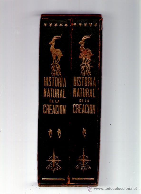 HISTORIA NATURAL DE LA CREACION - 2 TOMOS - EDICIONES AVE - 1966 - CON ESTUCHE (Libros de Segunda Mano - Historia - Otros)