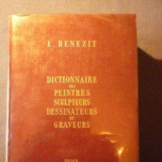 Libros de segunda mano: DICTIONNAIRE DES PEINTRES, SCULPTEURS, DESSINATEURS ET GRAVEURS. Lote 41667455