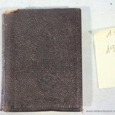 Libros de segunda mano: AGUILAR- COLECCION CRISOLIN - Nº 11 - ANDANZAS Y VISIONES ESPAÑOLAS - MIGUEL DE UNAMUNO. Lote 41712926