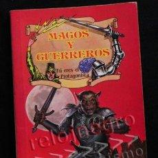 Libros de segunda mano: EL DESAFÍO DEL CABALLERO LOBO MAGOS Y GUERREROS TÚ ERES PROTA TIPO ELIGE PROPIA AVENTURA LIBRO JUEGO. Lote 41721441